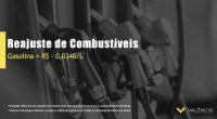 Reajuste Petrobras 03/12/20